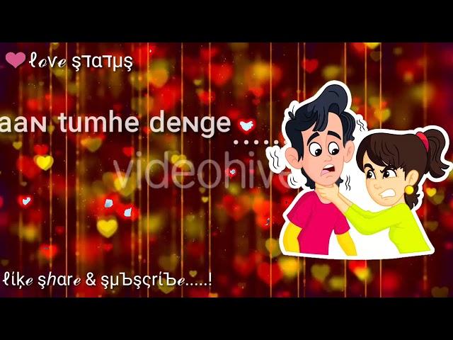 Dil De Diya hai Jaan tumhe dege ! Tha Heart Touching whatsapp status In Hindi