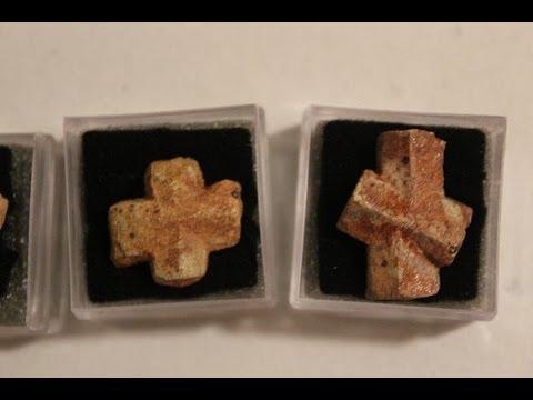 Staurolite Crystal Crosses AKA Fairy Stones or Fairy Crosses - The Lighthouse Lady