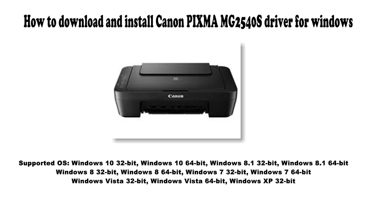 How to download and install Canon PIXMA MG20S driver Windows 20, 20.20, 20,  20, Vista, XP