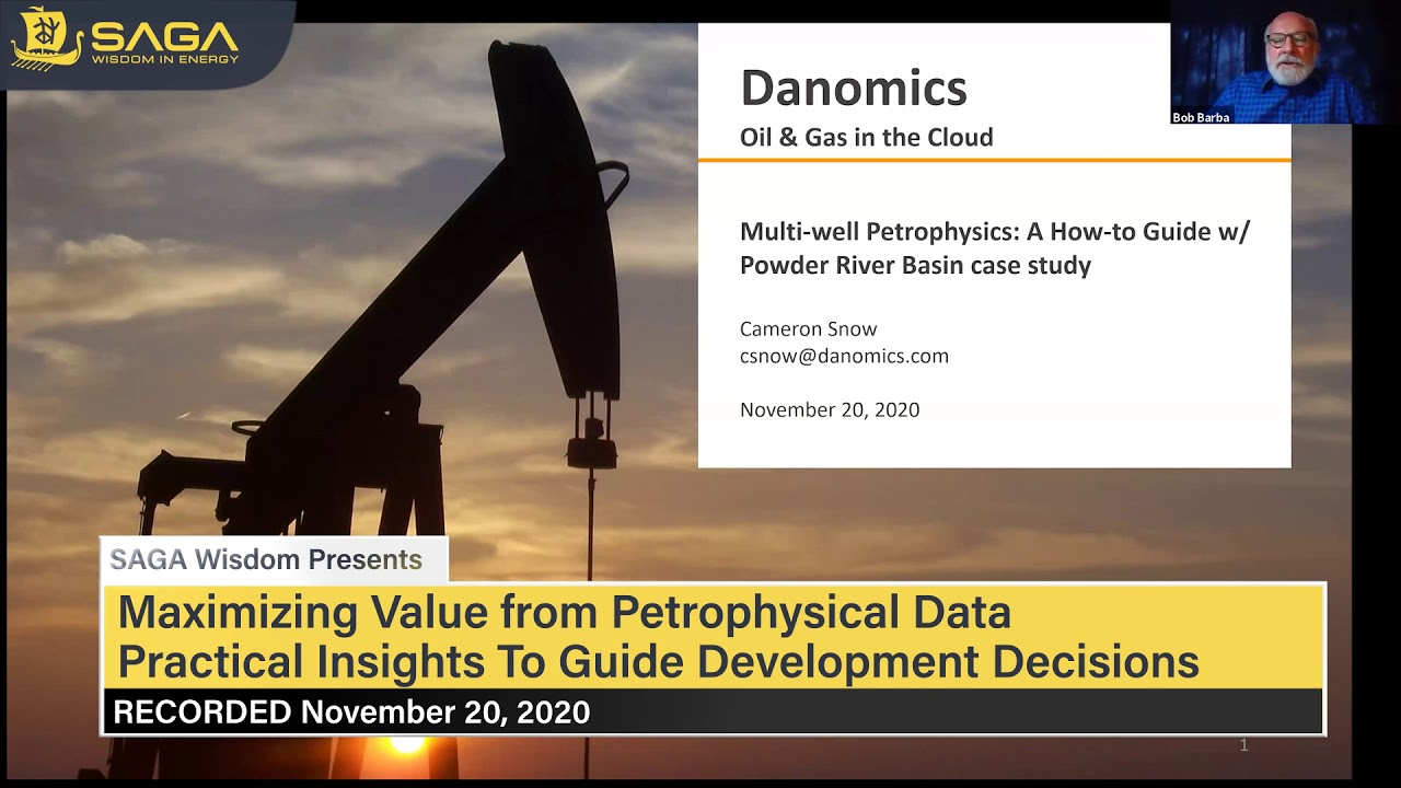 Download Maximizing Value from Petrophysical Data Webinar