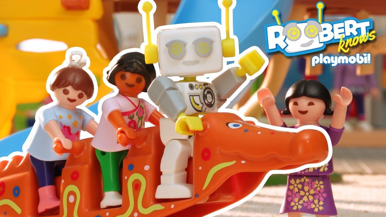 Was ist eigentlich ein Kindergarten?   ROBert erklärt   PLAYMOBIL Kinderfilm
