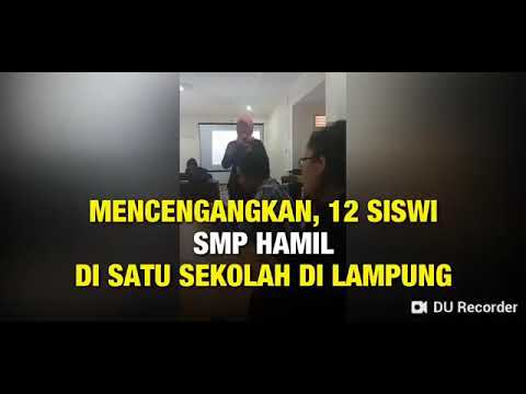 Viral 12 Siswi di Satu SMP Hamil, Pengakuan Sekolah Berbeda dengan Temuan PKBI Lampung thumbnail