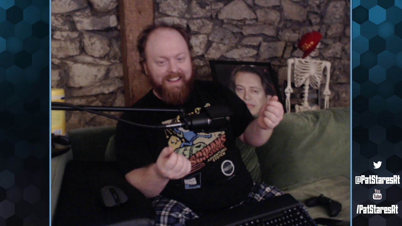 Pat Stares at AMID EVIL (With a Controller!)