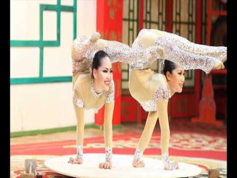 duo mongolian contortion