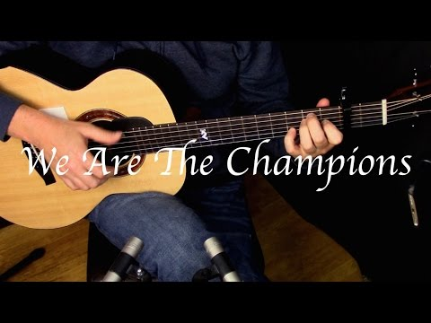 Queen - We Are The Champions - Fingerstyle Guitar