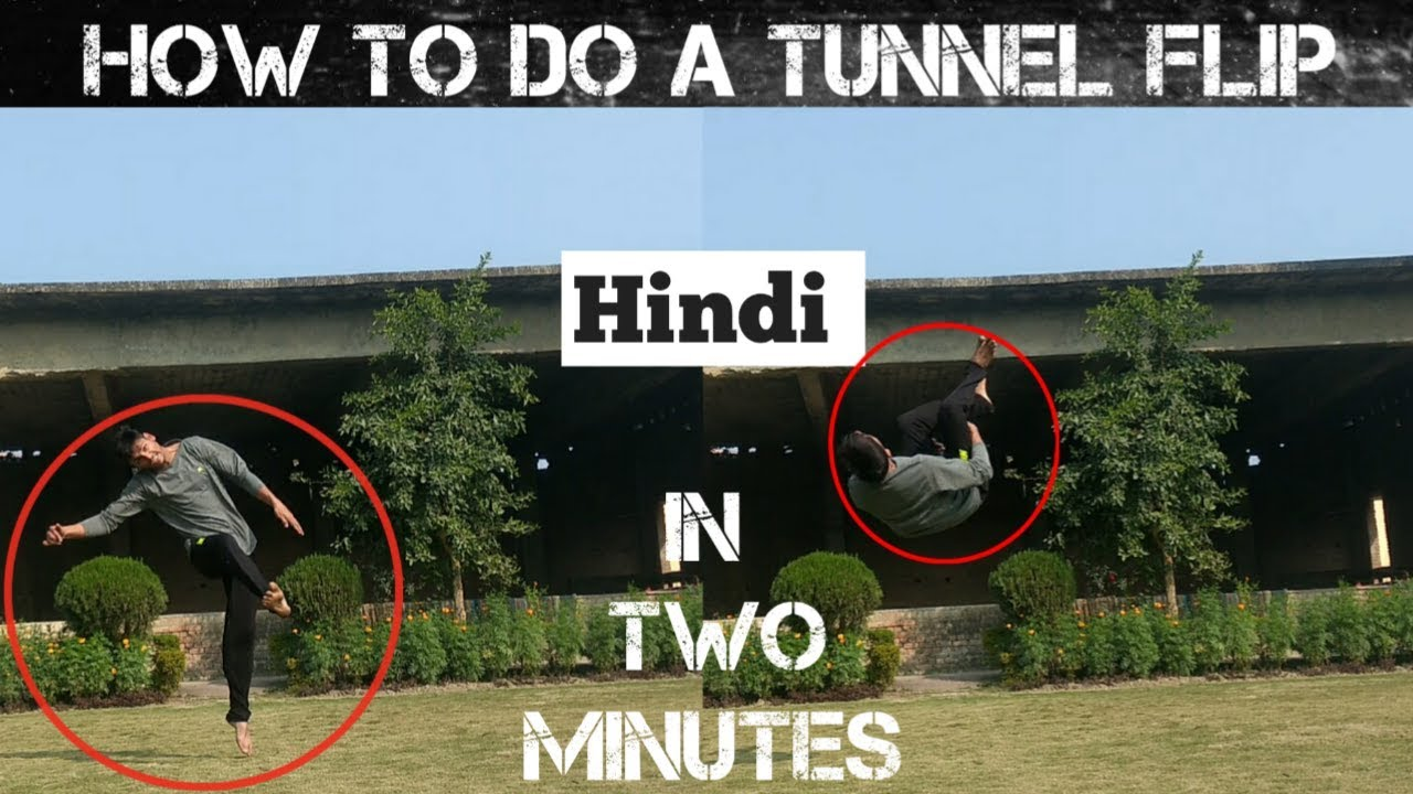 Download How to do a tunnel flip (Hindi)  English Subtitle   Atif Khan