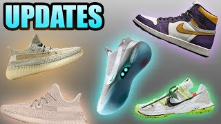 Air Mag Nike Adapt | Yeezy 350 Lundmark | Laker Jordan 1 SB Update | Sneaker Updates 35