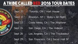 A Tribe Called Red  - 2016 Tour Dates @ www.OfficialVideos.Net