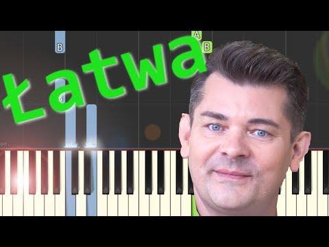 🎹 Przez Twe Oczy Zielone (Akcent) - Piano Tutorial (łatwa wersja) 🎹