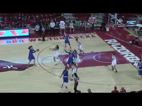 HBU Women's Basketball 2016-17 Highlights