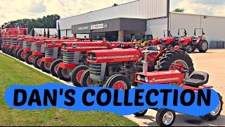10 Vintage Massey Ferguson Tractors