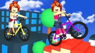 Roblox - PARKOUR DE BICICLETA HARDCORE (Extreme Biking)