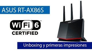 ASUS RT-AX86S: Conoce este router WIFi 6 doble banda y puertos Gigabit