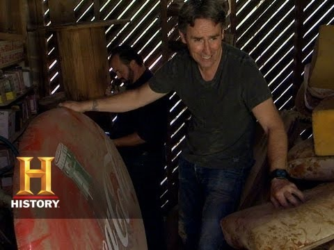 American Pickers: One Man's Sled, Another Man's Treasure | History