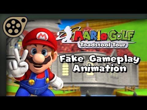 [SFM] Mario Golf Fake Gameplay Animation