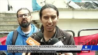 Estudiantes y profesores de universidades públicas continuarán en paro