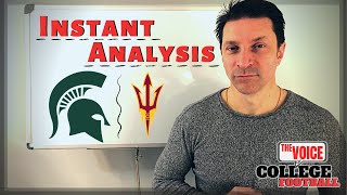 TRULY OFFENSIVE / Arizona State Sun Devils - Michigan State Spartans Instant Analysis