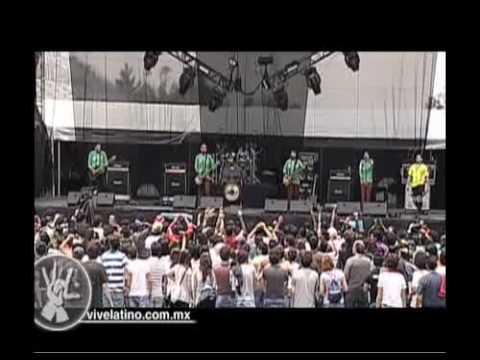 Presentación - Mongol Gol Gol en el Vive Latino 2009 - Rola 01