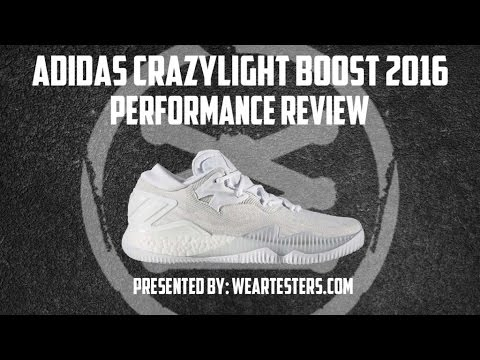 173306d1b597 Adidas Crazy Light Boost 2016 Performance Review - YouTube