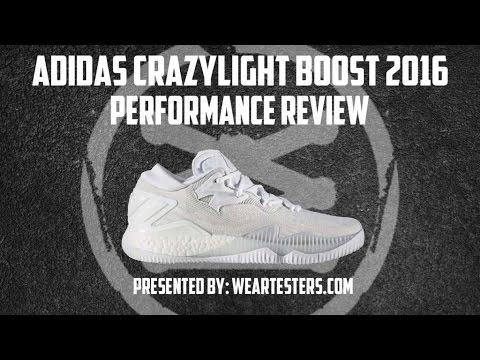 dff7e453e0bd Adidas Crazy Light Boost 2016 Performance Review - YouTube