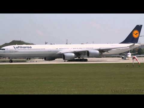 Lufthansa Airbus A340-600 Compilation