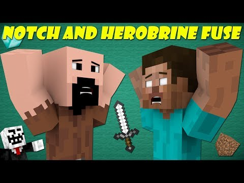 If Notch And Herobrine Fused Together - Minecraft