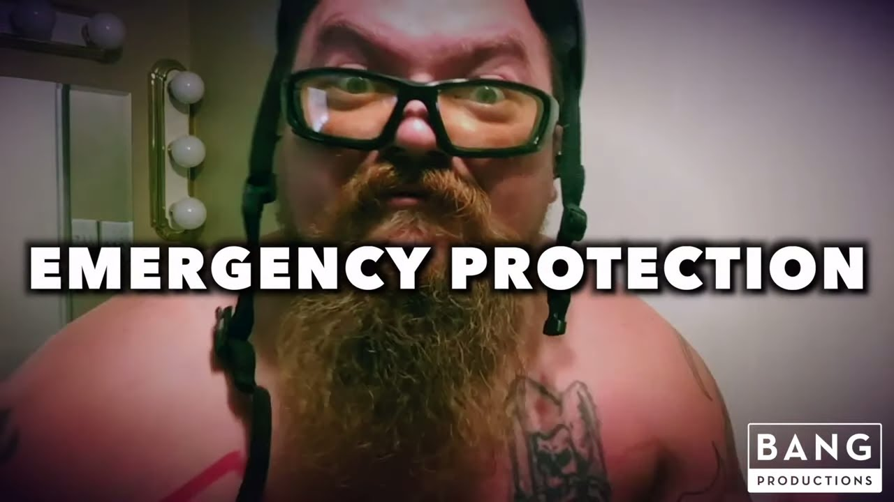 COMEDIAN CATFISH COOLEY: EMERGENCY PROTECTION - COMEDY FUNNY LAUGH