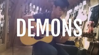 joji - Demons (acoustic cover)