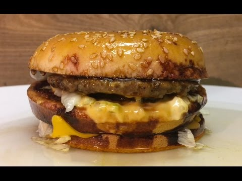 What Happens If You Pour Sulfuric Acid On A McDonald's Big Mac?