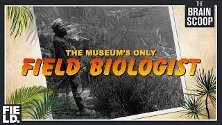 Meet the Museum's only Field Biologist