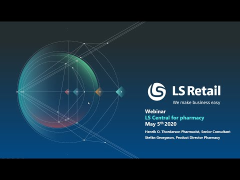 LS Pharmacy : introduction, integrations and localization - Webinar
