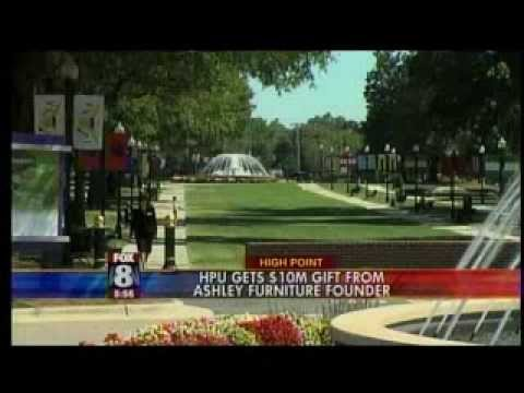 Hpu Receives $10 Million Gift From Founder Of Ashley Furniture