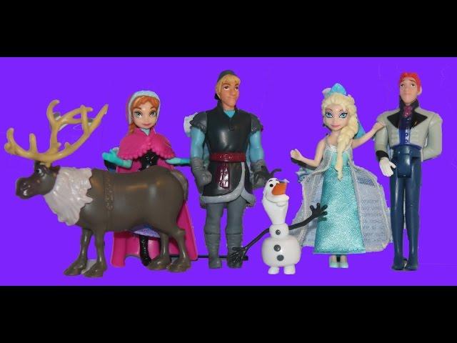 Disney Frozen Karlar ülkesi Disney Prenses Elsa Anna Kristoff