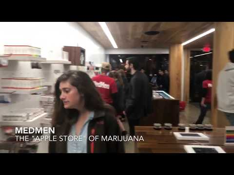 """MedMen: Tour the """"Apple Store"""" of Weed in Hollywood, California"""