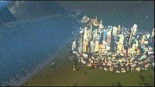 500.0 Tsunami Destroys 3 Cities | Cities Skylines Tsunami #124