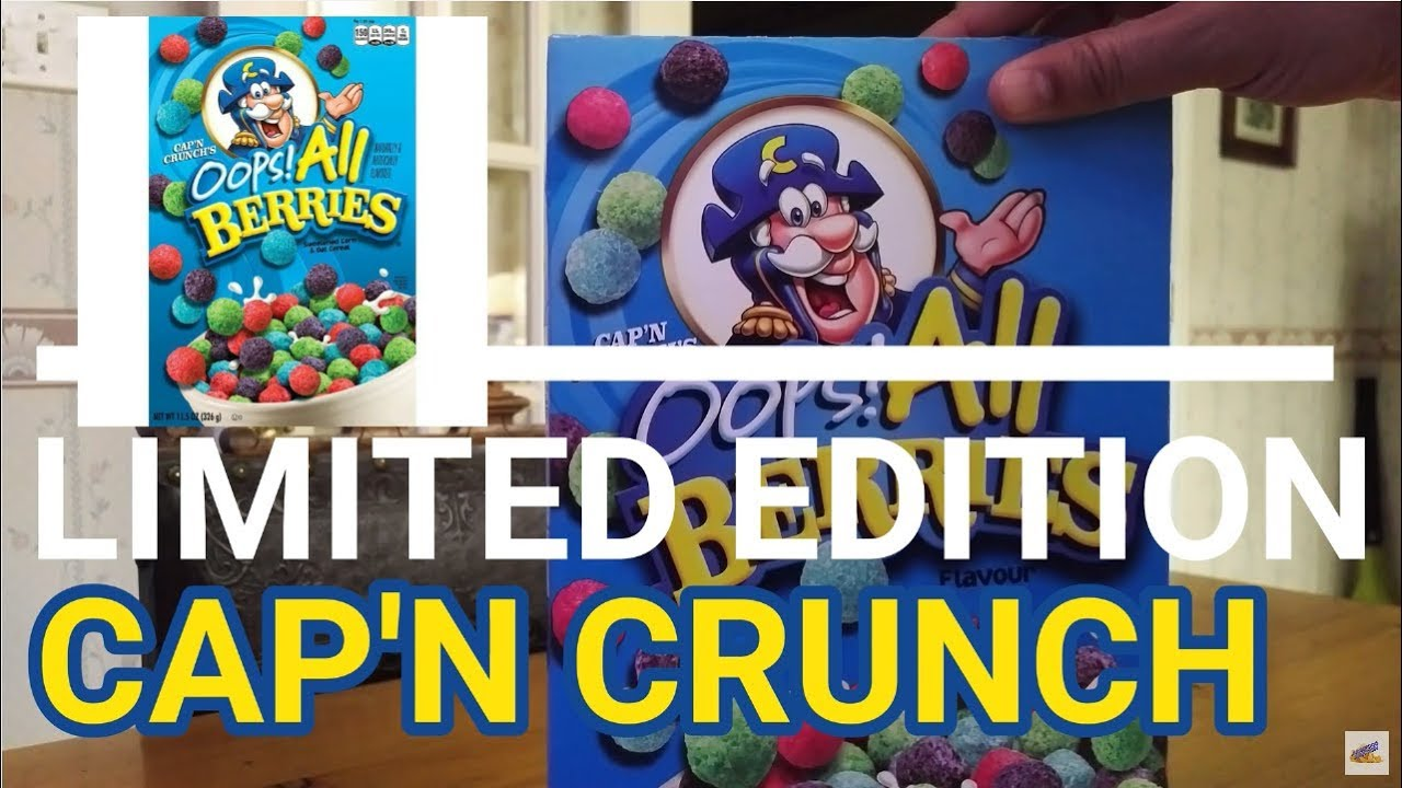 New Oops All Berries Limited Edition Cap N Crunch December 2019 Youtube 8:39 granny mcdonald recommended for you. new oops all berries limited edition cap n crunch december 2019