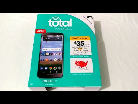 Moto G6 Unboxing For Total Wireless. Is this A Watered Down Version Of The G6?