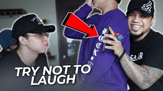 TRY NOT TO LAUGH CHALLENGE | DJ LOONYO WITH ROCK*WELL