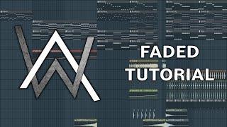 Alan Walker - Faded - Fl Studio Tutorial by Falubii - Read Desc.!