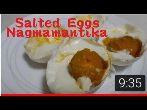 Homemade Salted Eggs, Nagmamantika At Napakasarap