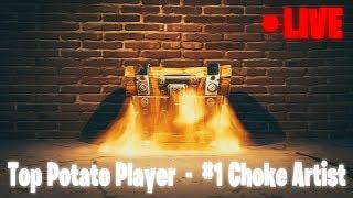 Fortnite Fun - Top Potato Player - #1 Choke Artist - Family Friendly (Xbox One)