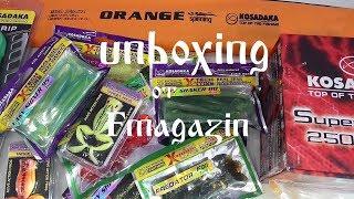 Unboxing посылки со снастями по заказу Fmagazin