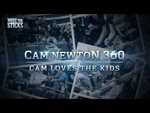 Why Cam Newton Loves the Kids   Move the Sticks   NFL