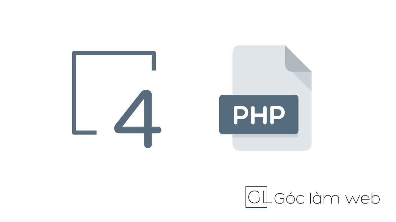 PHP Cơ bản | Bài 4: Vòng lặp trong PHP – Mảng và Thao tác với mảng