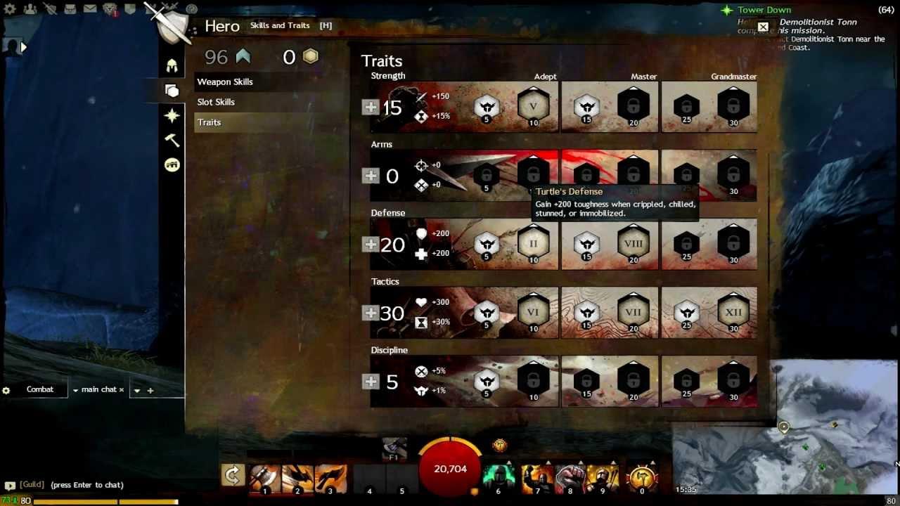 Guild wars 2 build: an in-depth heavy condition swords & longbow.