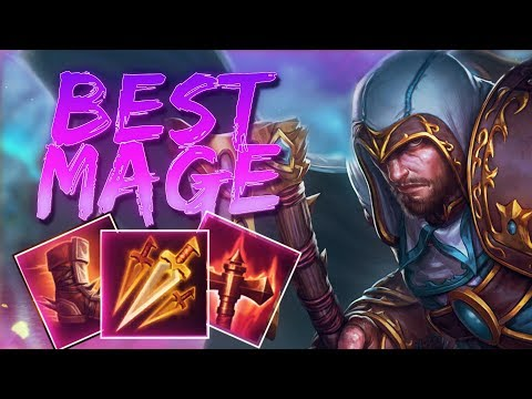 Ullr: WHY HE IS THE BEST MAGE IN THE META! - Smite