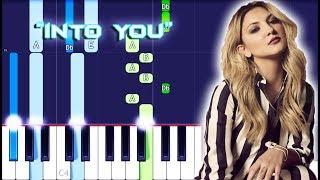 Julia Michaels - Into You Piano Tutorial EASY (Piano Cover)