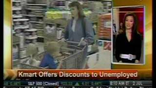 Kmart Offers Discounts To Unemployed - Bloomberg
