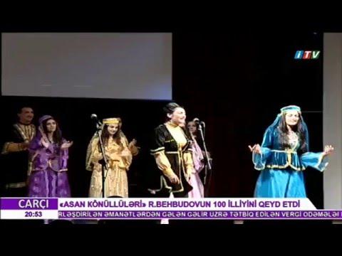 ASAN Könüllüləri R.Behbudovun 100 illik yubileyini qeyd edib İTV 26.12.2015
