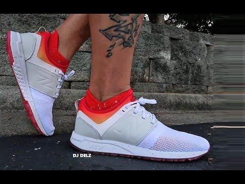 new balance 247 white and orange